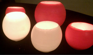 Natures Garden Candle Making Blog  » Blog Archive   » How to Make Tea Light Luminaries :  home scents candles