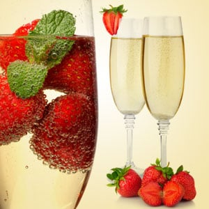 strawberry & champagne fragrance oil