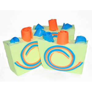 FUN Swirl Soap Recipe