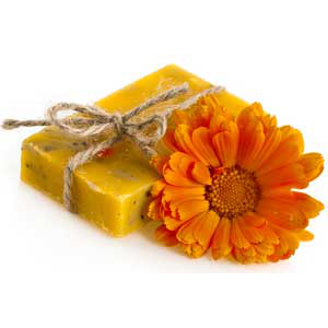 Calendula Sunshine Soap Recipe