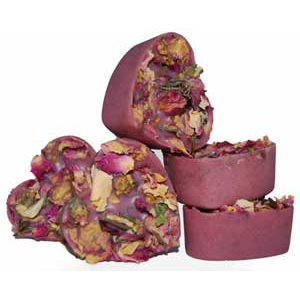 Rose Violet Bath Melts Recipe