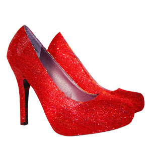 Scented Valentine Glitter Shoes Recipe