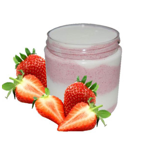 Strawberry Milkshake Emulsified Sugar Scrub Recipe