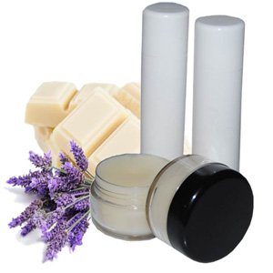 White Chocolate Lavender Lip Balm Recipe