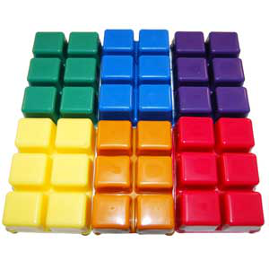 Color Blocks- 1 Dozen