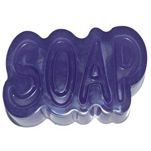 SOAP LETTERS- Mold Market Molds