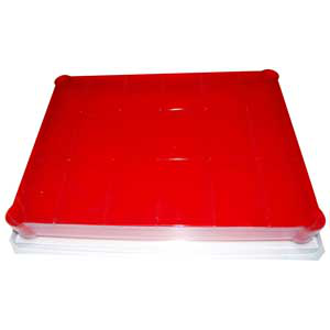 18 Bar Rectangle Grid Tray- Mold Market Molds
