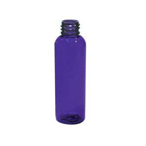 2 oz. BLUE  PET Bullet Bottles
