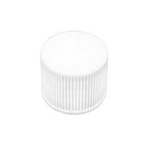White Ribbed Lids 20/410