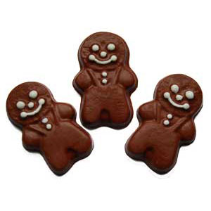 Embed Mold - Gingerbread Men