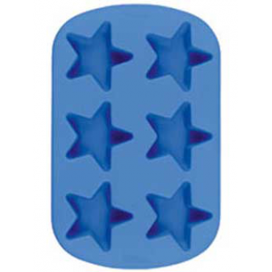 Silicone Soap Mold- 6 Cavity Star