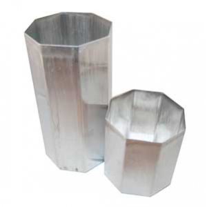 Octagonal Pillar Candle Molds