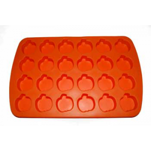 Silicone Soap Mold- 24 Mini Pumpkins
