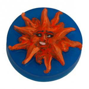 Soap Mold - Sunburst Face