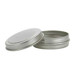 Round Tin with Lid  (1/2 oz.)
