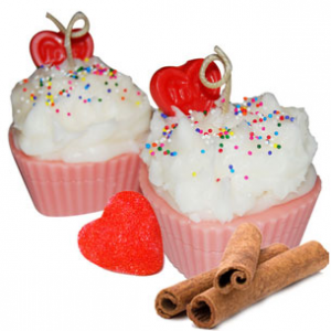 Valentines Day Cupcake Candle Recipe