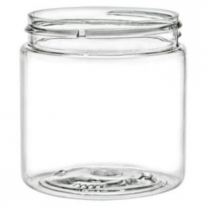 8 oz. Clear PET JAR