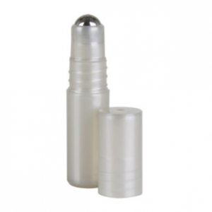 Silver Roll On Bottle