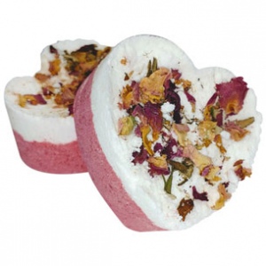Foaming Rose Petal Bath Bombs Recipe