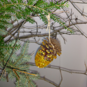 Pinecone Christmas Ornaments Recipe