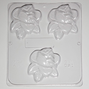 Soap Mold - Roses (Large)