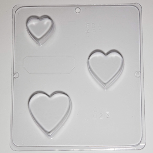 Stacking Hearts Mold-Soap Mold