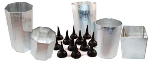 Pillar Candle Molds