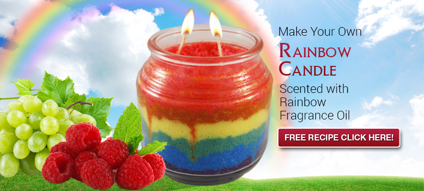 fragrance oils in candle recipe