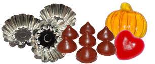 Candle Tart Molds